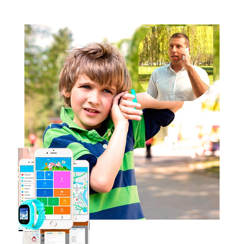 Đồng hồ thông minh trẻ em KidCare