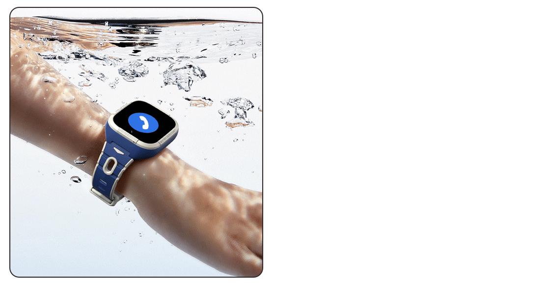 đồng hồ kidcare s8 chống nước IPX8